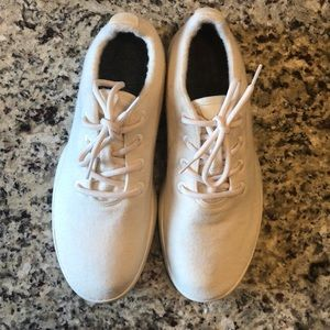 allbirds Men's White Wool Runners US 11 NEW!